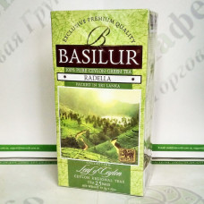 Tea Basilur Radela (Leaf of Ceylon) green 25*1,5g