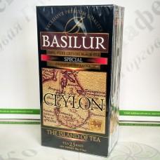 Чай Basilur Особливий (Острів Цейлон) чорн. 25*2г