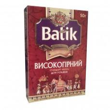 Чай Батік BОР 50г чорн. (20)