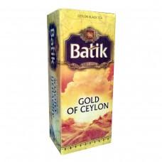 Чай Батик Золото Цейлона 25*2г черн. (32)