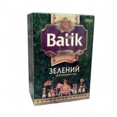 Чай Батік Зелений цейлонський 100г зел. (30)