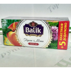 Tea Batik Peach & Mint 25*1.5g black (32)