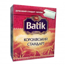 Чай Батік Королівський стандарт 100*2г чорн. (12)