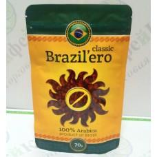 Кофе Brazil'ero Classic Классик сублимированный 70г (30)