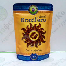 Coffee Brazil'ero Decaf Decaffeinated freeze-dried 140g (15)