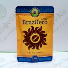 Кава Бразильєро Decaf Без кофеїну сублімована 70г (25)