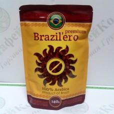 Кава Бразильєро Premium Преміум сублімована 140г (15)