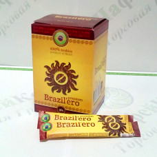 Кава Бразильєро Premium Преміум сублімована 25*2г (25)