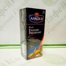 Чай Аскольд English Breakfast Англійський сніданок 25*2г