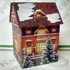 Tea Basilur Christmas House (Cottages) 100g (6)