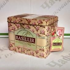 Чай Basilur Рожевий подарунок (Подарункова колекція) 100г