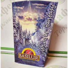 Tea Basilur Winter Vine (Winter Fantasy) green 85g (6)