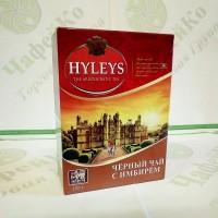 Чай Хэйлис Английский с имбирем черн. 100г (20)