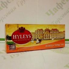 Чай Хэйлис Плод страсти черн. 1,5г*25шт. (36)