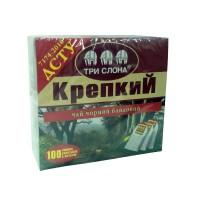 Чай Три слона Міцний чорн. 100*1,5г з/н (16)