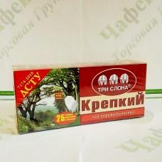 Чай Три слона Міцний чорн. 25*1,5г с/н (18)