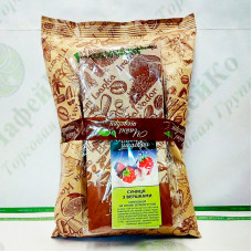Чай Чайные шедевры Земляника со сливками зел. 500г