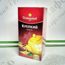 Чай Домашний Крепкий 20*1,5г черный (32)