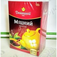 Чай Домашній Міцний 90г чорний (30)