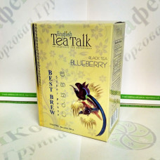 Чай English Tea Talk Blueberry Черника черн. 100г (24)
