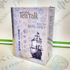 Чай English Tea Talk Earl Grey Ерл Грей чорн. 100г (24)