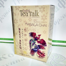 Tea English Tea Talk Masala Chai black+green 100g (24)