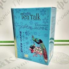 Чай English Tea Talk Tropical Jasmine Тропічний Жасмін чорн.+зел. 100г (24)