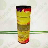 Чай English Tea Talk Tropicana Jazz Тропічний джаз чорн. + зел. 100г