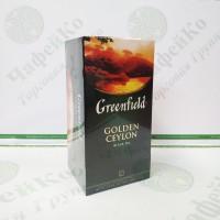 Чай Greenfield Golden Ceylon 25х2г