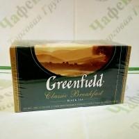 Чай Greenfield Classic Breakfast 25х2г