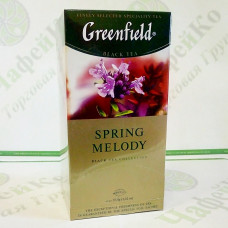 Tea Greenfield Spring Melody 25x1.5g