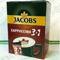 Кофе JACOBS 3 в 1 Cappuccino 24*14,8г