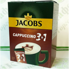 Coffee JACOBS 3 in 1 Cappuccino 24 * 14,8g