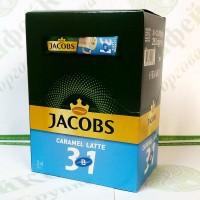 """Кофе JACOBS 3 в 1 """"Caramel Latte"""" 24*12,5г"""