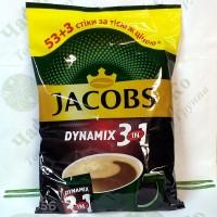 Кава JACOBS 3 в 1 Dynamix 53+3шт.*14,8г