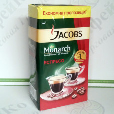 Кава JACOBS Monarch Espresso мелена 450г