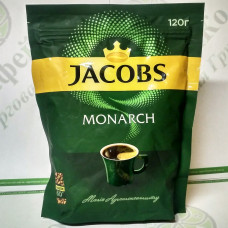 Кофе JACOBS Monarch растворимый 120г ОРИГИНАЛ (20)