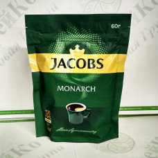 Кофе JACOBS Monarch растворимый 60г ОРИГИНАЛ (24)