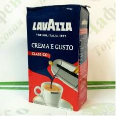 Кава Lavazza Crema e Gusto Classico мелена 250г