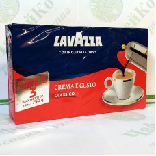 Кава Lavazza Crema e Gusto Silver мелена 250г