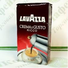 Кава Lavazza Crema e Gusto Ricco 250г мелений