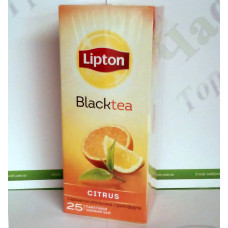 Чай Lipton Super Tasty Citrus 25*1,8г чорний (24)