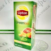 Чай Lipton Citrus Garden 25 * 1,4г зелений (24)