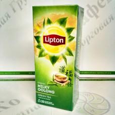 Чай Lipton Milky Oolong 25*1,6г зеленый (24)
