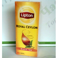 Чай Lipton Royal Ceylon 25*2г чорний (24)