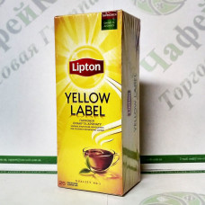 Чай Lipton Yellow Label 25*2г чорний (32)