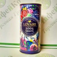 Чай Lovare 1001 Ніч чорний+зелений 80г (10)