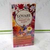 Чай Lovare Чорний асорті 24 * 2г (18)
