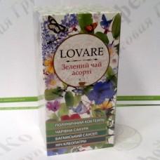 Чай Lovare Зеленый ассорти 24*2г (18)