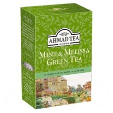 Чай Ахмад Mint & Melissa Green Tea М'ята і Мелісса зел. 75г (14)